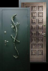 Металлическая дверь Дракон