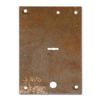 Пластина защитная Mottura прав предназначена для установки в входные металлические двери
