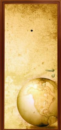 Фотопанель № 1-105 предназначена для установки в металлические двери