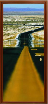 Фотопанель № 1606 предназначена для установки в входные металлические двери