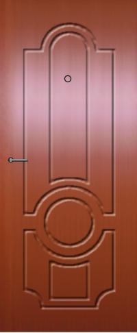 Панель фрезерованная ламинированная 02 предназначена для установки в металлические двери