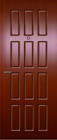 Панель фрезерованная ламинированная 07 предназначена для установки в металлические двери
