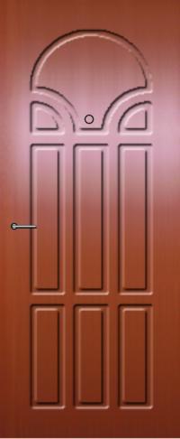 Панель фрезерованная ламинированная 08 предназначена для установки в металлические двери