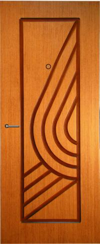 Панель фрезерованная ламинированная 09 предназначена для установки в металлические двери