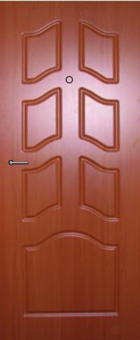Панель фрезерованная ламинированная 12 предназначена для установки в металлические двери