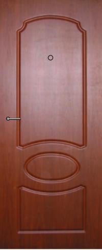 Панель фрезерованная ламинированная 13 предназначена для установки в металлические двери