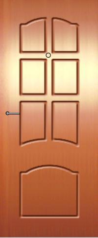 Панель фрезерованная ламинированная 15 предназначена для установки в металлические двери