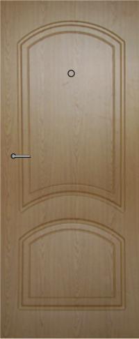 Панель фрезерованная ламинированная 17 предназначена для установки в металлические двери
