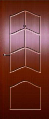 Панель фрезерованная ламинированная 20 предназначена для установки в металлические двери