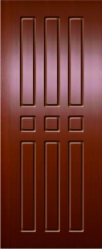 Панель фрезерованная ламинированная 22 предназначена для установки в металлические двери