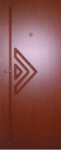 Панель фрезерованная ламинированная 27 предназначена для установки в металлические двери