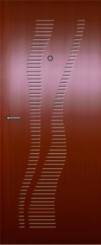 Панель фрезерованная ламинированная 34 предназначена для установки в металлические двери