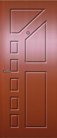Панель фрезерованная ламинированная 41 предназначена для установки в металлические двери