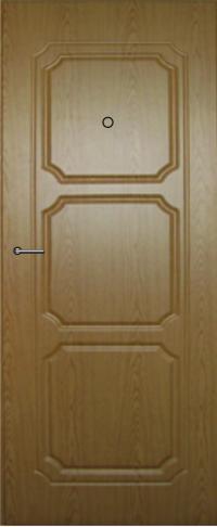 Панель фрезерованная ламинированная 44 предназначена для установки в металлические двери