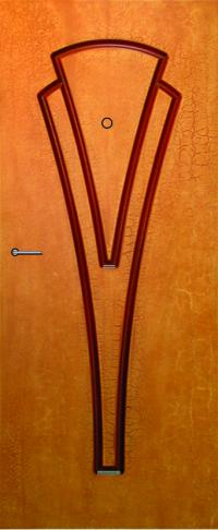 Панель фрезерованная ламинированная 45 предназначена для установки в металлические двери