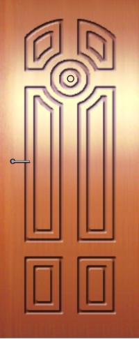 Панель фрезерованная ламинированная 46 предназначена для установки в металлические двери