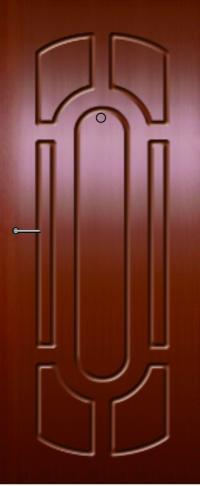 Панель фрезерованная ламинированная 47 предназначена для установки в металлические двери