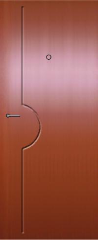 Панель фрезерованная ламинированная 52 предназначена для установки в металлические двери