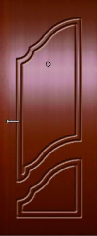 Панель фрезерованная ламинированная 62 предназначена для установки в металлические двери