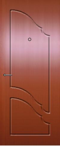Панель фрезерованная ламинированная 63 предназначена для установки в металлические двери
