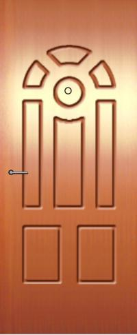 Панель фрезерованная ламинированная 64 предназначена для установки в металлические двери
