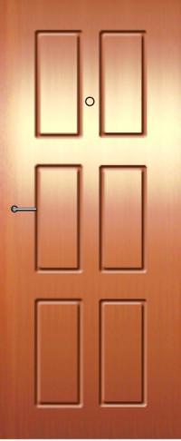 Панель фрезерованная ламинированная 67 предназначена для установки в металлические двери