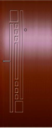 Панель фрезерованная ламинированная 69 предназначена для установки в металлические двери