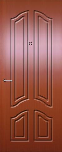 Панель фрезерованная ламинированная 99 предназначена для установки в металлические двери
