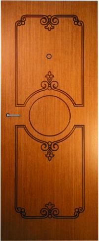 Панель фрезерованная ламинированная Миледи предназначена для установки в металлические двери