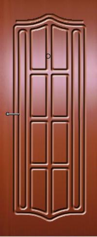 Панель фрезерованная ламинированная Модерн предназначена для установки в металлические двери