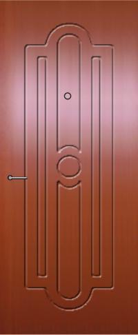 Панель фрезерованная ламинированная Прима предназначена для установки в металлические двери