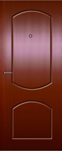 Панель фрезерованная ламинированная Сеньор предназначена для установки в металлические двери