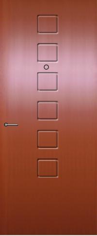 Панель фрезерованная ламинированная Сити предназначена для установки в металлические двери