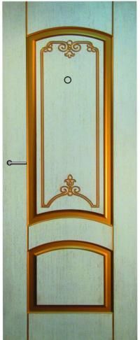 Панель фрезерованная ламинированная Фортуна предназначена для установки в металлические двери
