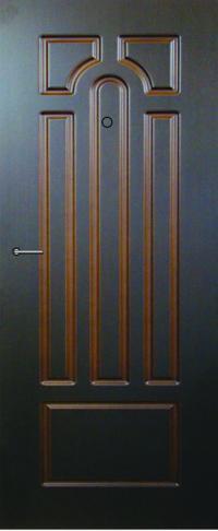 Панель фрезерованная ламинированная Эврика предназначена для установки в металлические двери