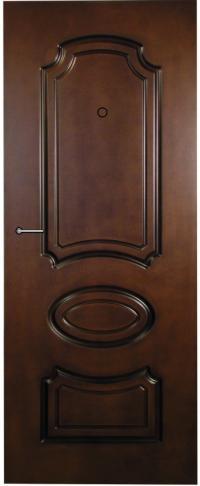 Панель фрезерованная ламинированная Экзотика предназначена для установки в металлические двери