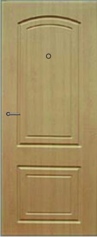 Панель фрезерованная ламинированная Эллегия предназначена для установки в металлические двери