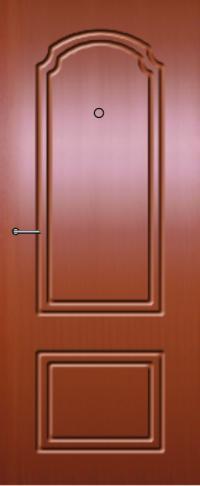 Панель фрезерованная ламинированная Этна предназначена для установки в металлические двери