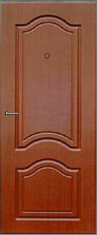 Панель фрезерованная ламинированная Этюд предназначена для установки в металлические двери