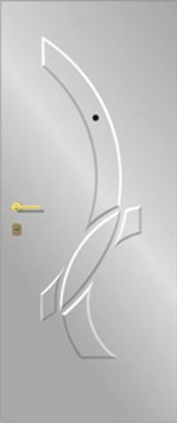 Объемная ламинированная панель 31 предназначена для установки в стальные двери
