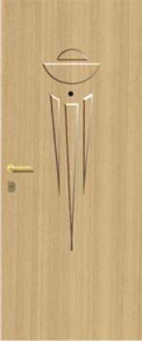 Объемная ламинированная панель 35 предназначена для установки в стальные двери