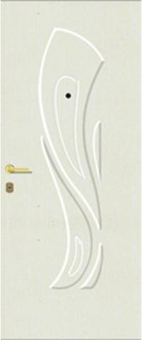 Объемная ламинированная панель 40 предназначена для установки в стальные двери