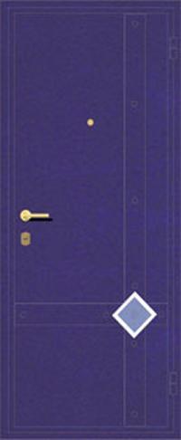 Декоративная отделка металлом ФЛИ 81 предназначена для установки в металлические двери