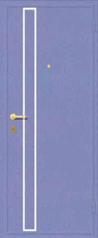 Декоративная отделка металлом ФЛИ 83 предназначена для установки в металлические двери