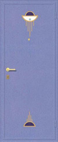 Декоративная отделка металлом ФЛИ 96 предназначена для установки в металлические двери
