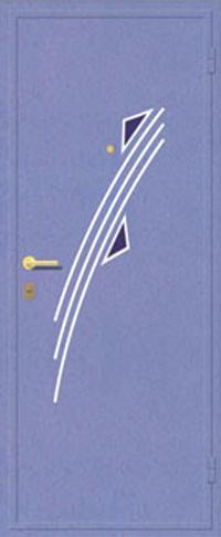 Декоративная отделка металлом ФЛИ 109 предназначена для установки в металлические двери
