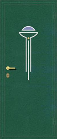 Декоративная отделка металлом ФЛИ 111 предназначена для установки в металлические двери