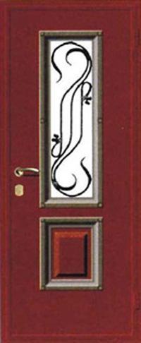предназначена для отделки стальных дверей
