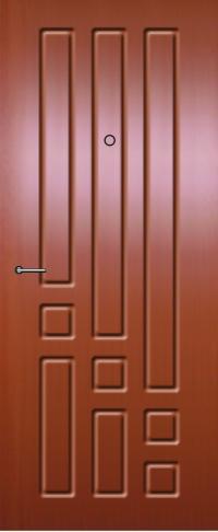 Панель из натурального шпона 23 предназначена для установки в стальные двери