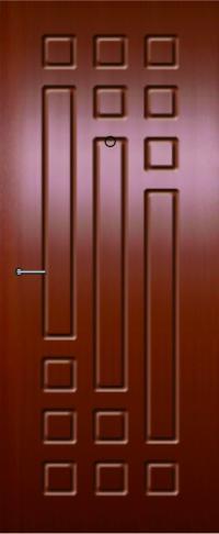 Панель из натурального шпона 24 предназначена для установки в стальные двери